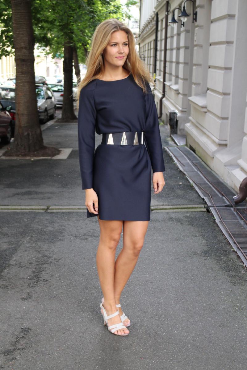 Fremgangsmåte for kjole med lange ermer | Sy klær selv, Sy