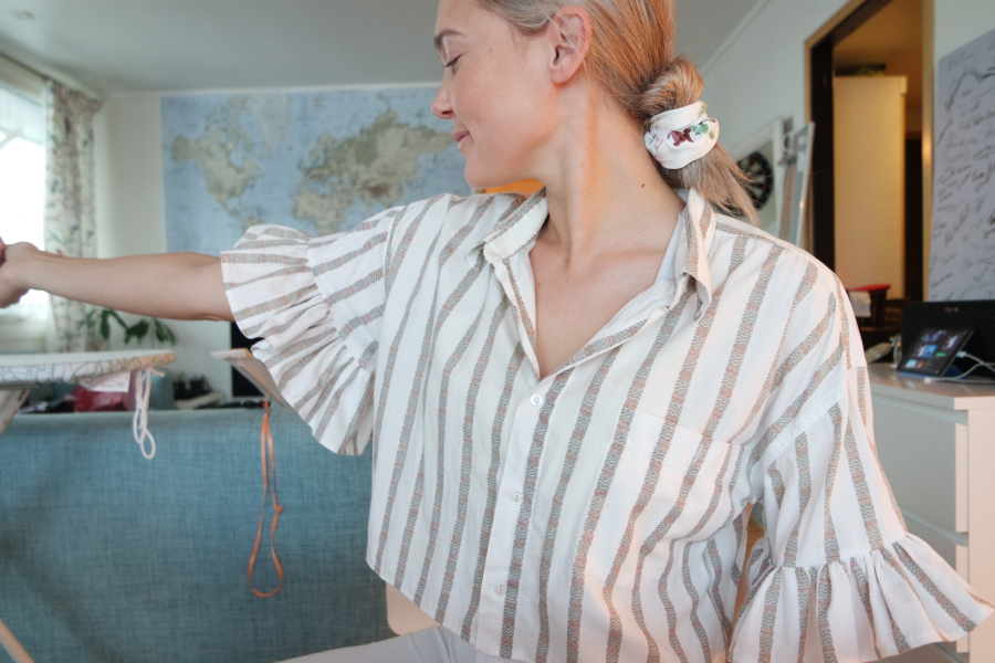 ingrid bergtun t skjorte