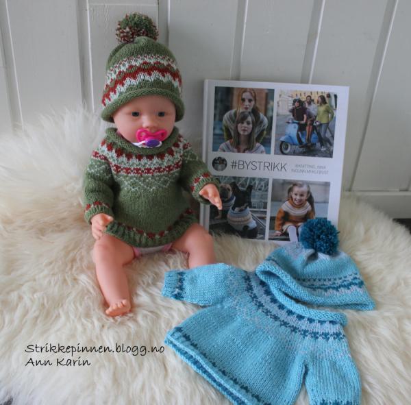 dukke genser oppskrift