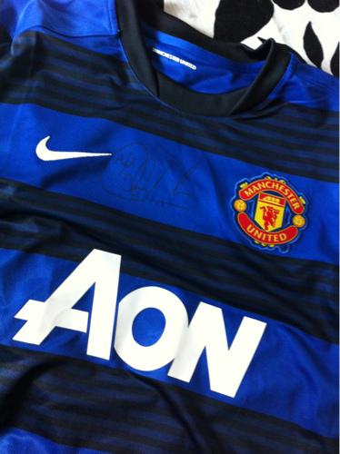 Signert United drakt