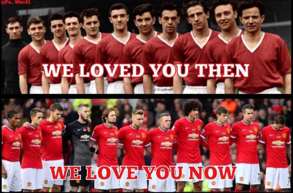 In Munich you died, in United you live forever