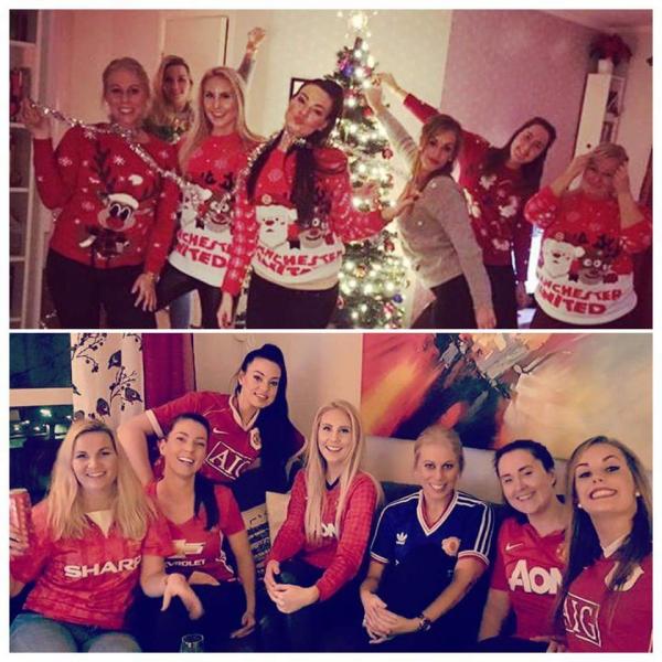 Manchester United julebord :D
