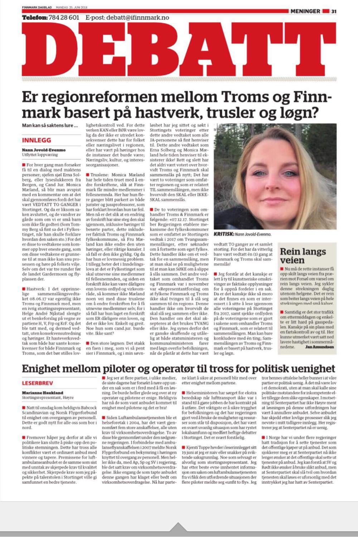 For Finnmark