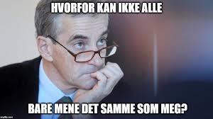 Noe må gjøres i Norsk Politikk: