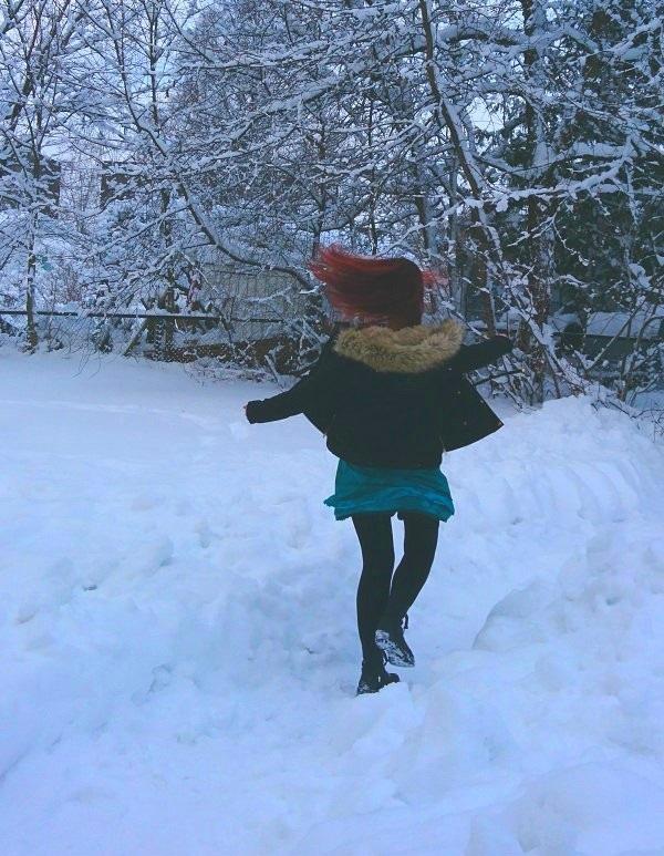 8a6e1e0c Dette er min siste tolkning i min Vinterutfordring: Vinterland. Igjen  gjenstod bare Vinterklær.