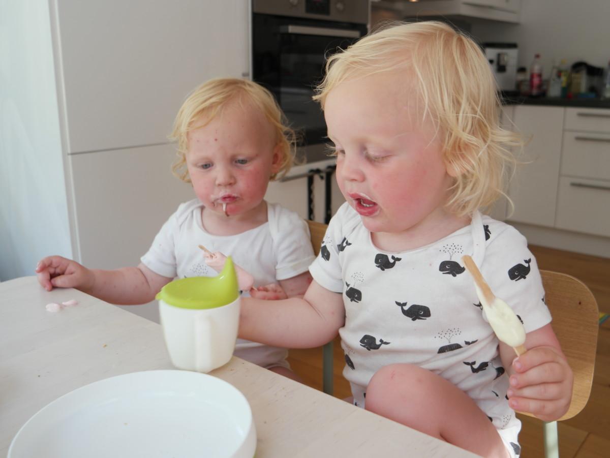 toåringer spiser is