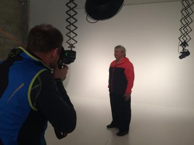 En størrelse for stor HeidiRosander – På fotoshoot hos