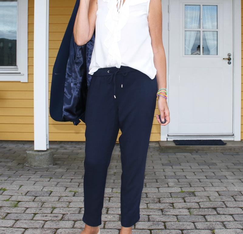 annebe – Blå bukse ! (antrekk 50+)