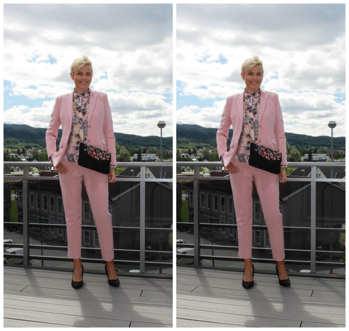 annebe – En rosa dress.. (Antrekk 50 +)