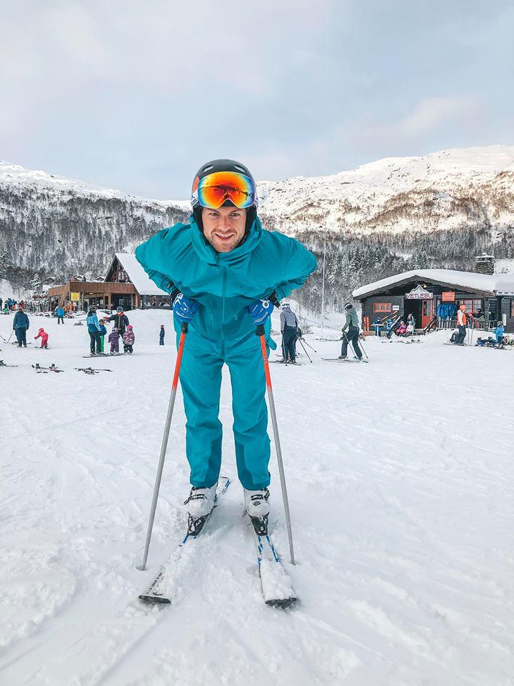 lær dit barn at stå på ski