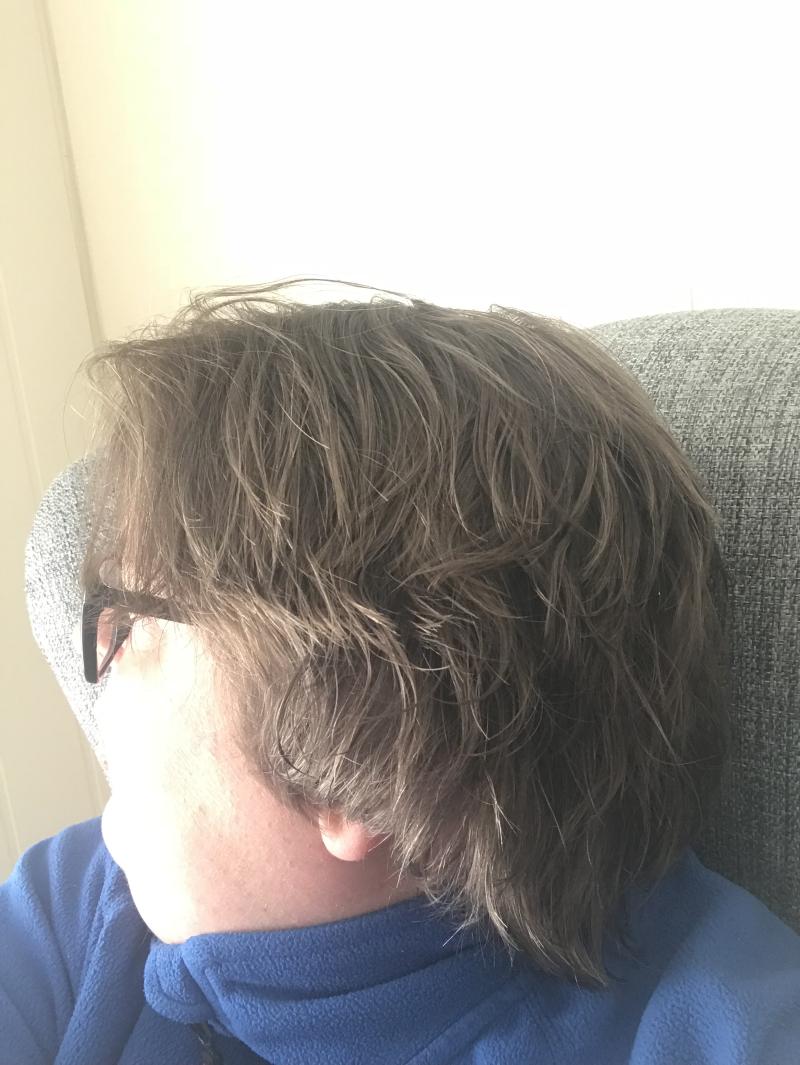Krøller kort hår Kort hår