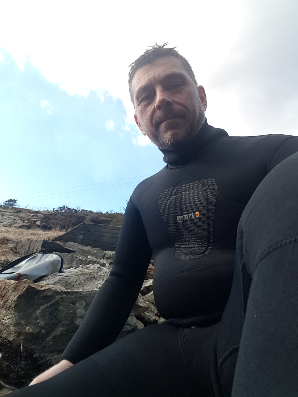 Fridykking vest i havet!
