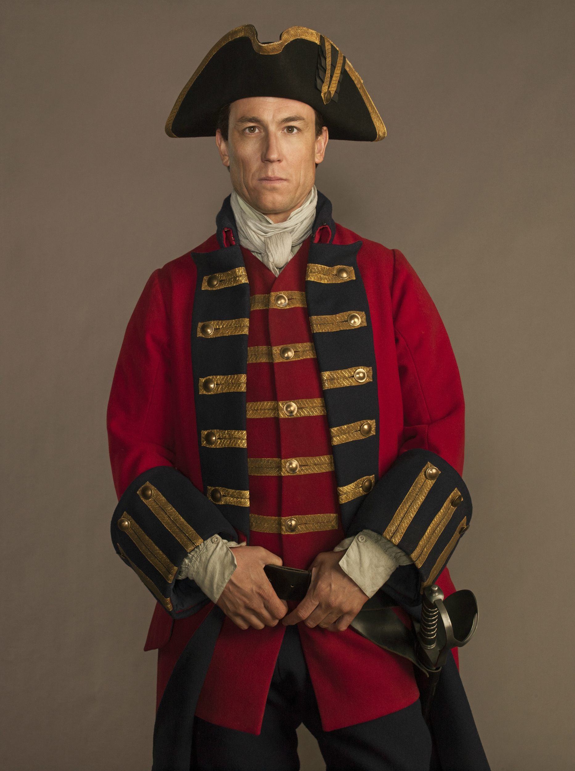 Outlander Season 1 Gallery Pictured: Tobias Menzies as Captain Black JackPhoto: Frank Ockenfels 3/Courtesy of Sony Pictures Television