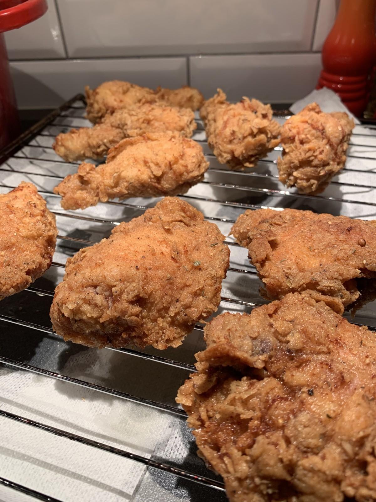 Hvordan lage KFC kylling