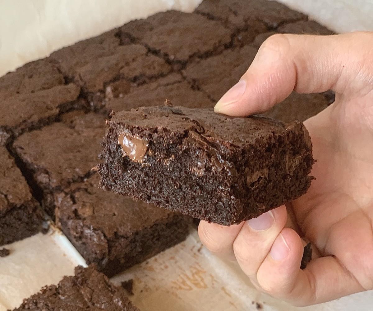 enkel oppskrift på brownies