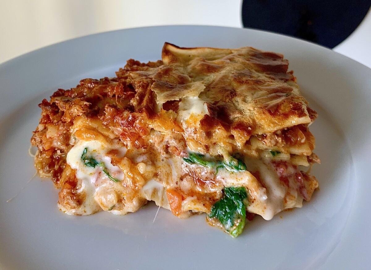 lasagne oppskrift