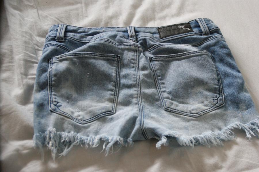 thalesunniva – DIY: fra bukse til stilig shorts
