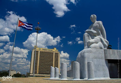 Jose Marti memorial with a big monument of Marti in Vedado © Cuba Absolutely, 2014