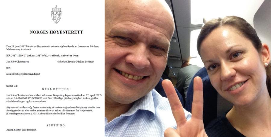 Pastor Jan-Aage Torp (59):- Nå har Høyesterett avvist anken fra bloggeren Jan Kåre Christensen.