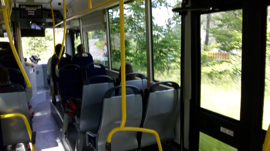 Busspassasjer:- Jeg vil gjerne dele en veldig ubehagelig opplevelse med dere. Den fant sted på bussen på Fredag