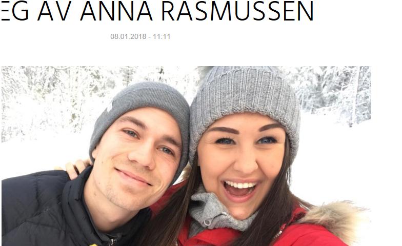 Nå er toppblogger Anna Rasmussen (20) klar for å gifte seg med sin Jan!