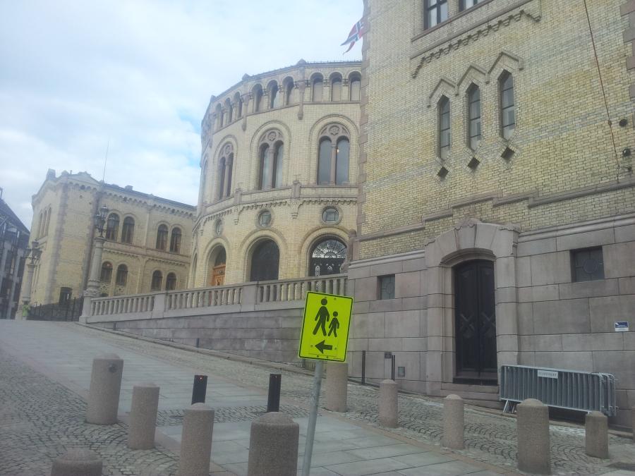 Stortingets byggekonto er tom i april