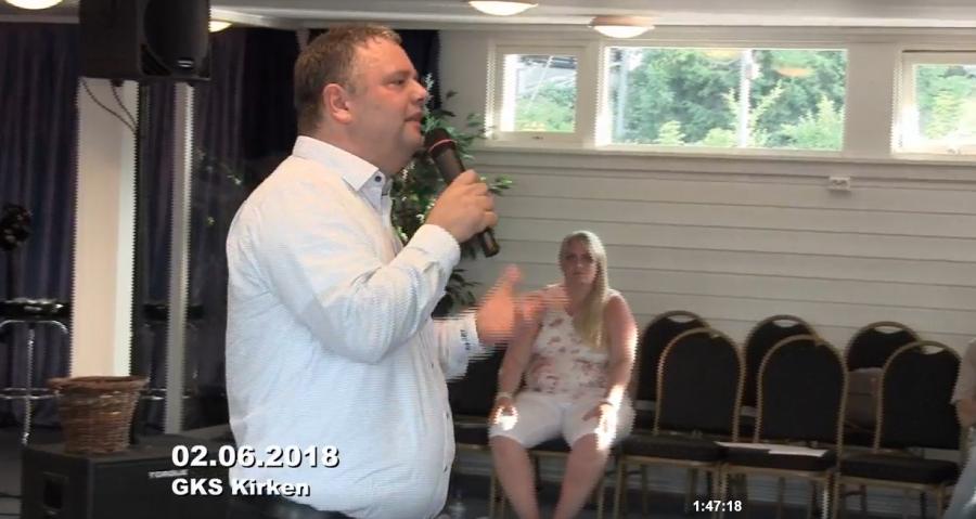 Ikveld leder evangelist Jørn Strand (51) det aller siste Vekkelsesmøtet i Skien. Det starter klokken kl.17.00 på GKS
