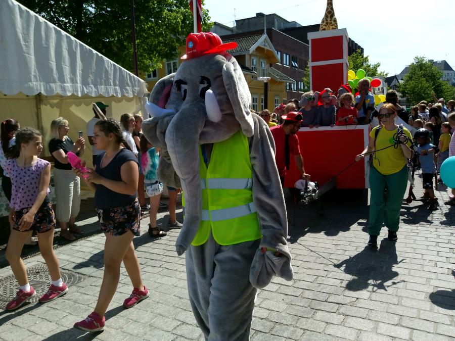 Idag var tid for Barnas dag i Porsgrunn igjen. Flere tusen hadde tatt turen. Her får dere se noen bilder
