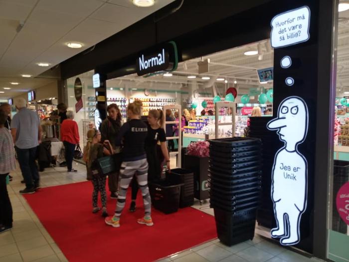 En ny butikkjede åpnet på Down Town i Porsgrunn igår. Var du innom?