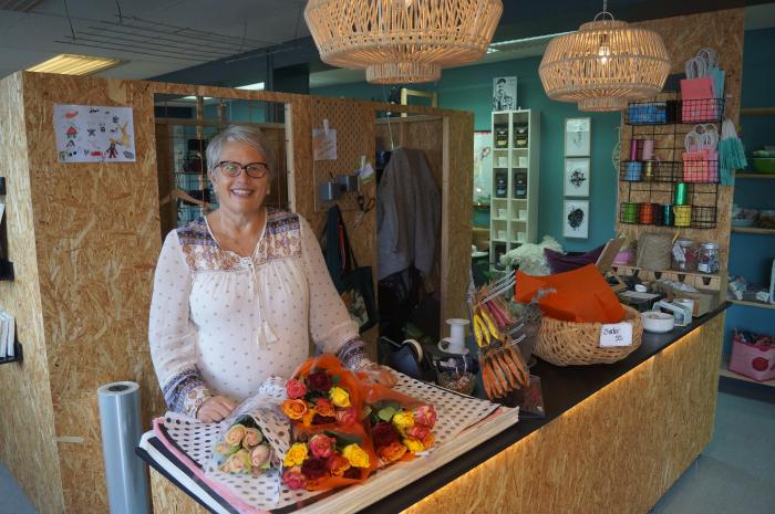 """Idag er det akkurat 1 år siden """"Sofies Have"""" åpnet butikkdørene på Herre for aller første gang.Anne Sofie Beylegaard er fornøyd"""
