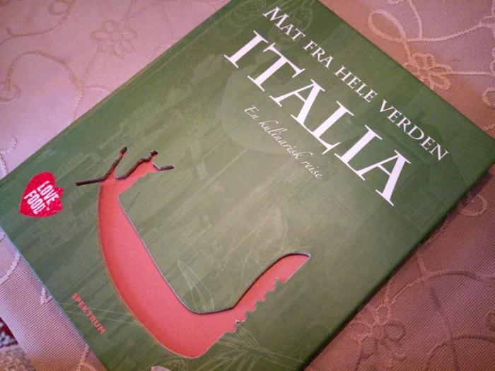 Elsker du mat fra Italia? Vinne KOKEBOK?