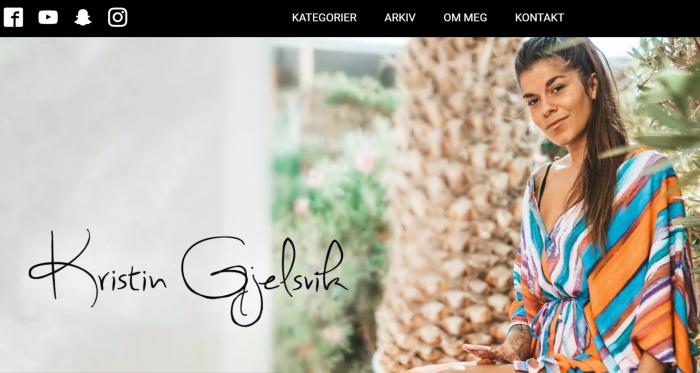 Toppblogger Kristin Gjelsvik (32) får flengende kritikk etter konkurs