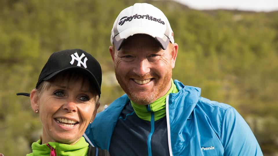 Ekteparet Jarle Hegerland (46) og Ann-Cathrin Losvik (48) omkom i helikopterulykken