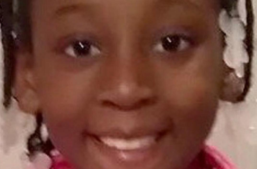 Trinity Love Jones (9) ble funnet død i en koffert.Hun kan være drept