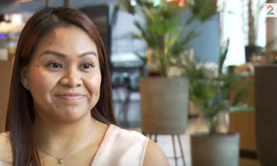 Veronica (28) fant igjen familen på TV. Har ingen konatkt med dem idag