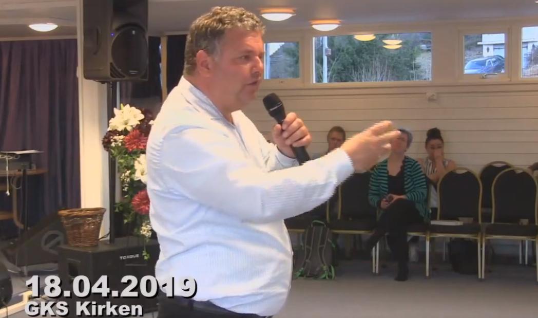 I April holder  Evangelist Jørn Strand (53) Påskekonferanse på Gulset i Skien