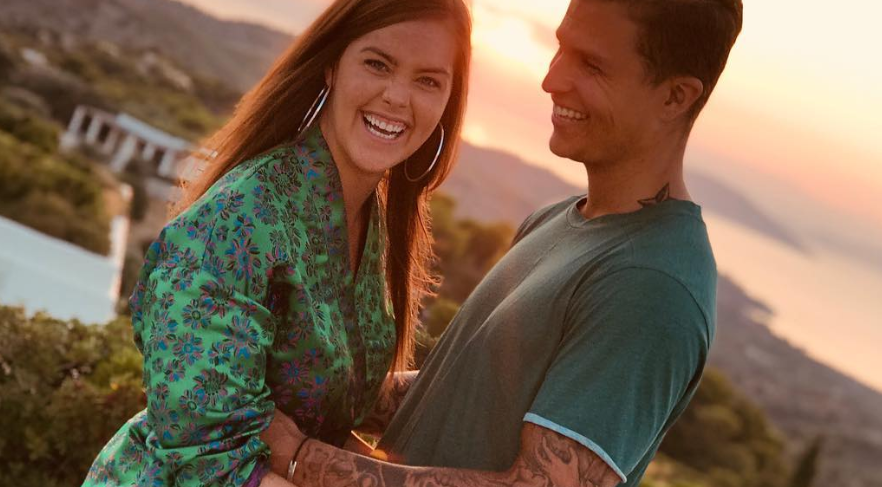 I 2018 fridde Atle Pettersen (29) til kjæresten Cathrine Eide.Nå er de gift