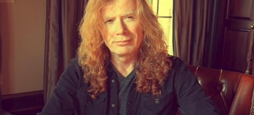Megadeth-gitarist Dave Mustaine  (57) har strupekreft  igjen