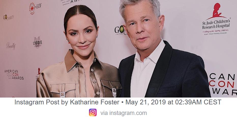 Nå er David Foster (69) og Katharine McPhee (35) blitt mann og kone