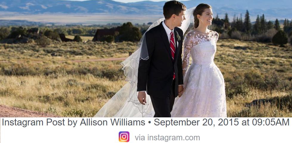 Allison Williams (31) har valgt å skilles fra ektemannen etter åtte år