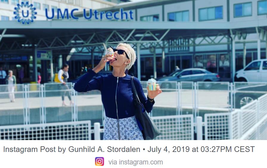 Gunhild Stordalen deler en gladnyheten med sine over 169 000 følgere