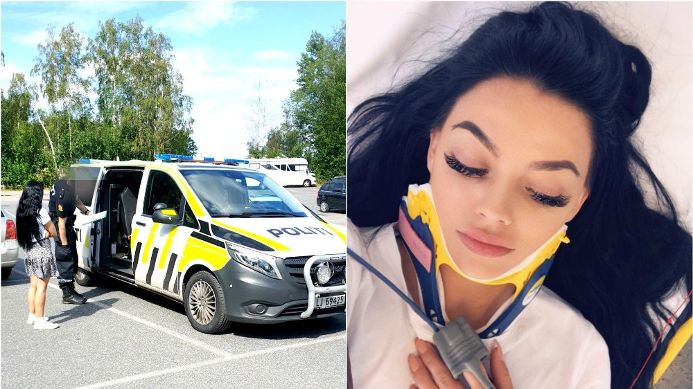 Bloggeren og Youtuberen Stina Bakken (26) ble utsatt for blind vold i Sandefjord