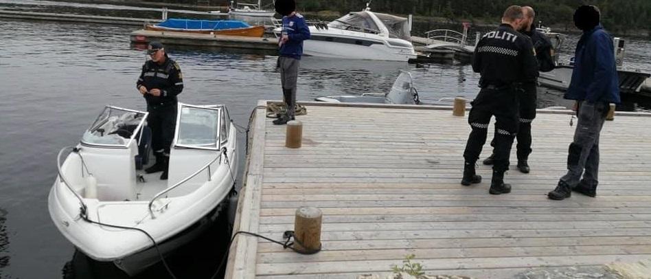 Det ble en stor redningsaksjon etter funn av drivende båt i Bamble