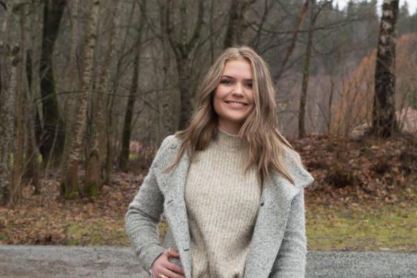Christina Auli Westhelle (18) er en av deltakerne i Miss Norway. Hun ville delta for å utfordre seg selv