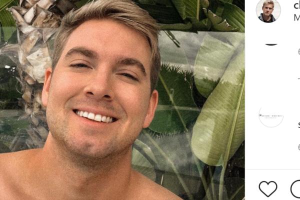 Christopher Mørch Husby (32) har funnet kjærligheten med ny mann etter bruddet med Jan Thomas (69)