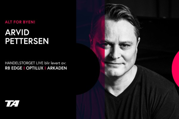 Kveldens konsert på Handelstorget Live er med Arvid Pettersen. Se den her!