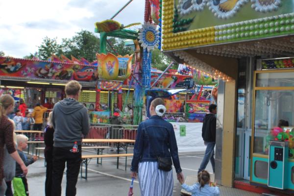 Nå har Axels tivoli kommet til byen og er åpent for store og små. Det varer fram til 09. august