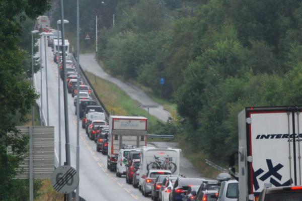 Fire personer døde i trafikken – laveste tallet målt i nyere tid