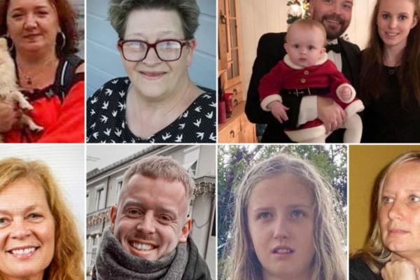 De savnede og omkomne etter skredet i Gjerdrum
