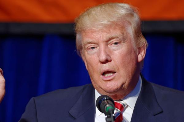 USAs president Donald Trump forlater Washington, D.C.